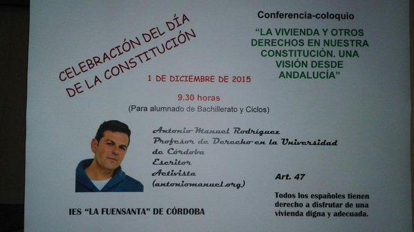 Conferencia IES Fuensanta